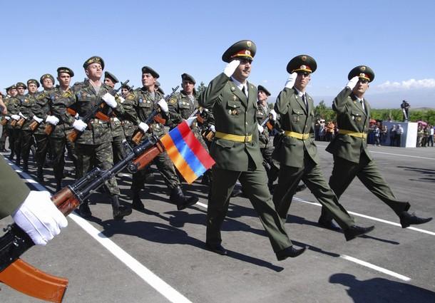 Настрой армянских солдат - полная противоположность азербайджанской
